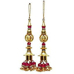 Salwar Kameez Decorative Latkans Fashion Accessory Beaded Tassels Supply 1 Pair