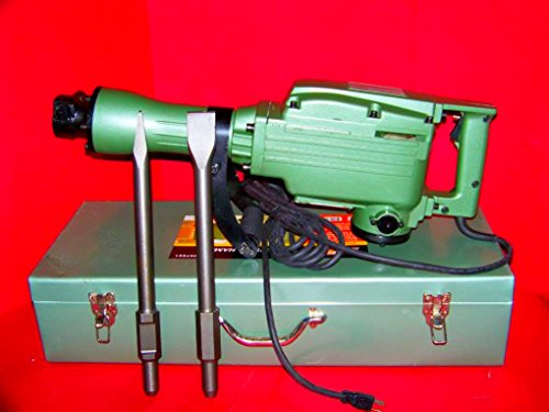 Electric Demolition Jack Hammer With Punch & Chisel Tools