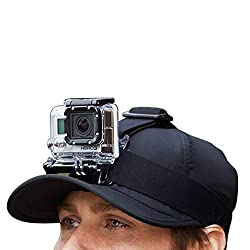 HEAD STRAP MOUNT HARNESS FOR GOPRO, GOPRO HD, HERO - ACTION CAMERA ACCESSORY