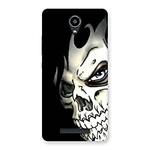 Enticing Nasty Face Art Multicolor Back Case Cover for Redmi Note 2