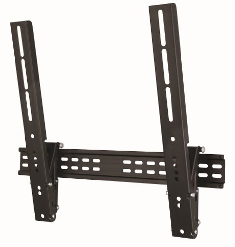 Duronic TVB201M Ultra Slimline Ultra Strong Adjustable Black LED LCD TV Tilt Tilting Wall Mount Bracket 23″-55″ – MAX VESA 400 X 400 (distance between the holes on the back of your TV)