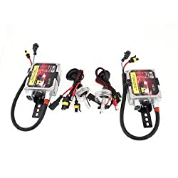 Banggood 2 Pcs 4300K 35W 12V H1 Car HID Xenon Headlamp Fog Light Bulbs w Ballast