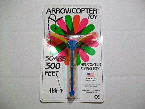 Arrowcopter Flying Toy (2 Arrowcopter in package) - 1