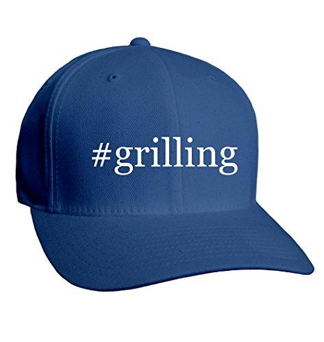 #Grilling - Hashtag Adult Men'S Hat Baseball Cap, Blue, Large/X-Large