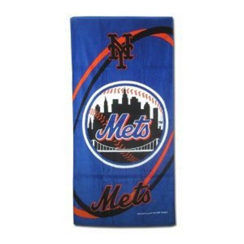 "MLB LICENSED NEW YORK METS BEACH BATH POOL TOWEL 30"" X 60"" at Amazon.com"
