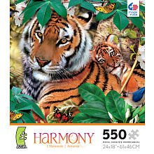 Harmony 550 Piece Puzzle - Jungle - 1