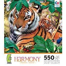 Harmony 550 Piece Puzzle - Jungle - 1