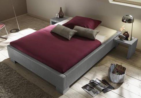 Stilbetten Bett Rattanbett Falcade 013 Classic mocca 180×200 cm online kaufen