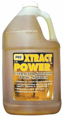 #1 Cleaner, Xtract Power Commercial/Dealer Grade, Gal/128oz makes up to 40 gallons! for Extraction Machines FREE 50 STATE PRIORITY SHIPPING