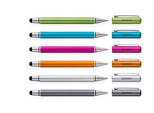 wacom Bamboo Stylus duo 書き味を増した新素材のペン先にボールペンを追加 シルバー CS170S