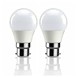 SYSKA LED 9W B22 6500K = COOL DAY LIGHT = CRYSTAL WHITE (PACK OF ONE)