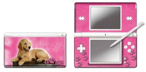 Pebble Entertainment Pink Retriever Graphic Skin for DS Lite (Nintendo DS)