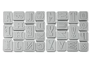 Fred and Friends, CA Letter Pressed Cookie Cutters
