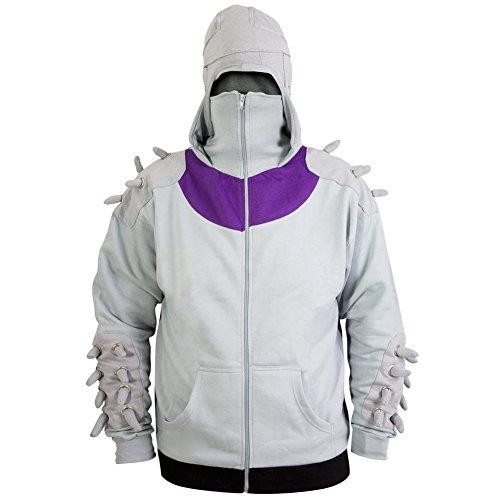 Teenage Mutant Ninja Turtles - Shredder Costume Hoodie Small Grey