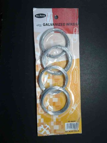 4 Pack Galvenized Wires Low Price
