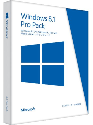 Microsoft+Windows+8.1+Pro+Pack+with+Windows+Media+Center+(Windows+8.1からWindows+8.1+Pro)
