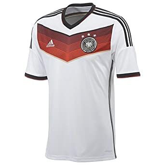 Buy Adidas Mens Germany Home Soccer Jersey World Cup 2014 by adidas