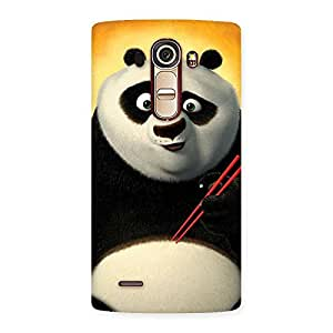 Premium Kun Panda Multicolor Back Case Cover for LG G4