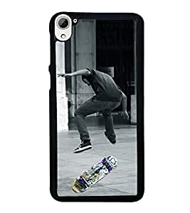 Skate Board 2D Hard Polycarbonate Designer Back Case Cover for HTC Desire 826 Dual Sim