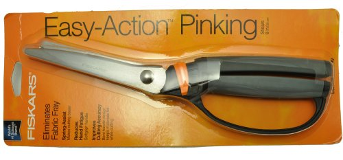Fantastic Deal! Fiskars 8 Inch Soft Touch Pinking Shears