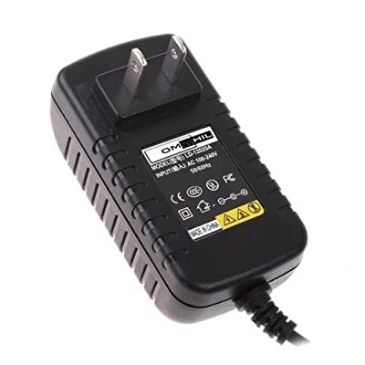 OMNIHIL 9V AC Adapter for Schwinn 206, 213, 223, 226 & 231 Recumbent Exercise Bike Power Supply / AC Adaptor 8' Cord