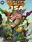 img - for JSA Sourcebook (DC Universe RPG) book / textbook / text book