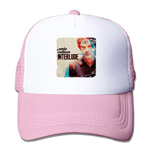 CEDAEI Jamie Cullum - Interlude Jazz Pop Singer Songwriter Outdoor Mesh Hat Sports Snapback Adjustable Pink