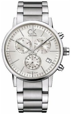 Calvin Klein Chronograph Post Minimal Mens Watch K7627126 Wrist Watch (Wristwatch)