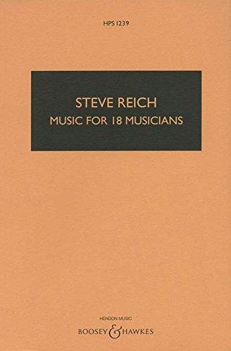 Music for 18 Musicians: For Ensemble (Hps 1239)