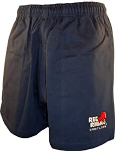 Red Rhino Rugby Shorts - Navy - M - 34