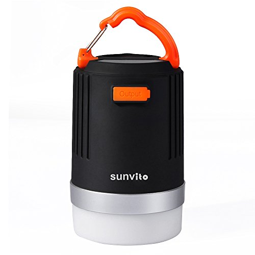 Camping-Lantern-Sunvito-Bright-2-in-1-LED-Camping-Lamp-10400mAh-Power-Bank-IP65-Waterproof-Rechargeable-Emergency-Lantern-Ideal-for-Camping-Backpacking-Hiking-Fishing-USB-Powered