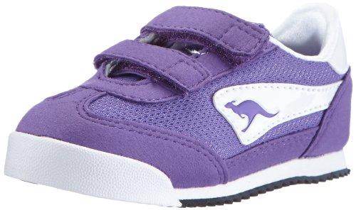KangaROOS  Baby-H,  Scarpe da corsa unisex bambino, Viola (Violett (violet/white)), 26