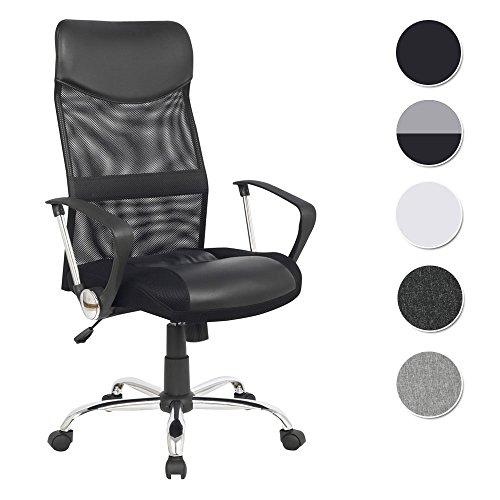 Chefsessel Bürostuhl Schreibtischstuhl Drehstuhl Schwarz - H-935-6/1319