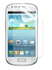 5 in 1 (Pack of 5) LCD Screen Protector/ Cover/ Guard /Film Includes Cleaning Cloth For Samsung Galaxy Fame S6810