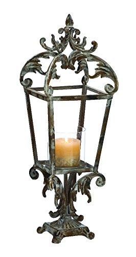 Metal Lantern Woodland Imports B009D4X7EU
