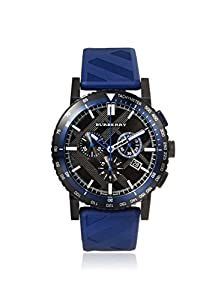 Burberry Stainless Steel Chronograph Watch - Blue