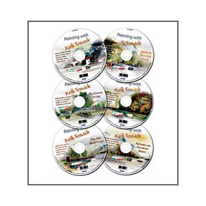 Painting with Keith Fenwick DVD 6 x DVD Set