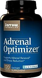 Jarrow Formulas Adrenal Optimizer, Supports Adrenal Renewal  and Stress Reduction, 120 Tabs