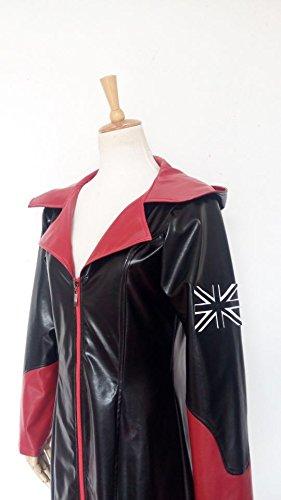 [Tasso DMC 5 Devil May Cry Dante Red Black Coat Cosplay Costume-custom Made (Male-XXXL)] (Cosplay Costume Making)