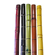 Ringed Bamboo Poles 6' by 1