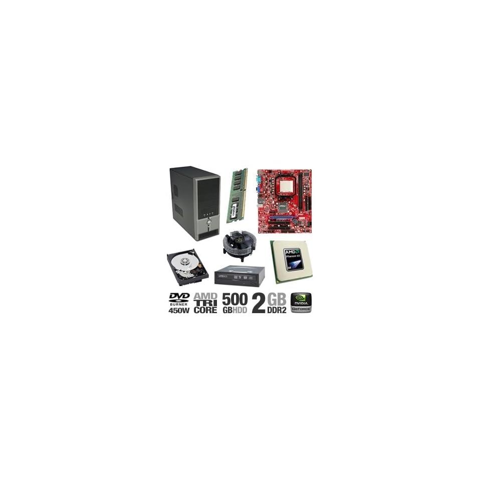 MSI K9N6PGM2 V2 GeForce Barebones Kit