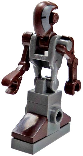 LEGO Star Wars LOOSE Minifigure Clone Wars FA-4 Pilot Droid - 1