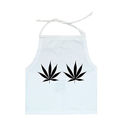 Weed Halter Crop Top Women's T-Shirt Cannabis