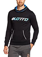 Lotto Sudadera Sweat Devin Fl Hd (Negro)