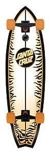 Santa Cruz Skate Tiger Shark Sk8 Complete Skate Boards, 10.0 x 36-Inch