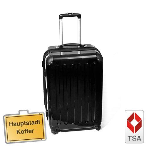 HAUPTSTADTKOFFER® · Hartschalenkoffer SCHWARZ