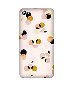 Multi Color Dots Micromax Canvas Fire 4 A107 Printed Back Cover