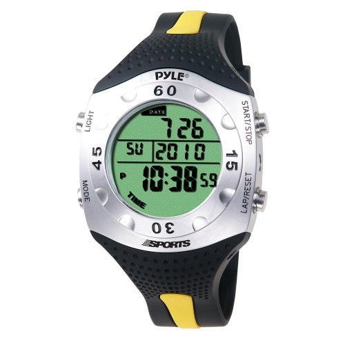 Pyle-Sports Advanced Dive Meter With Water Depth, Temperature, Dive Logand Auto El Backlight (Pswdv60Y)