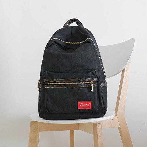 sac-en-toile-simple-lyceens-college-de-korean-air-sac-a-dos-sac-a-dos-loisirsblack