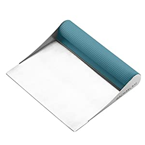 Rachael Ray Cucina Tools & Gadgets Bench Scrape, Agave Blue